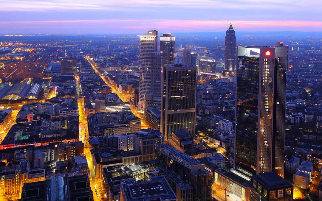 Lichterfunkeln in den Metropolen