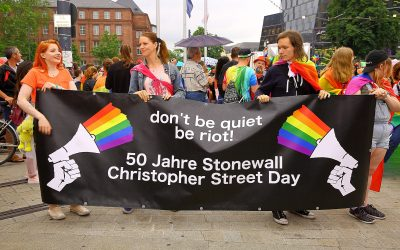 Don´t be quiet be riot! 50 Jahre Stonewall